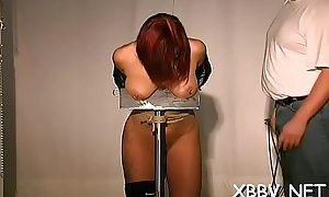 Enslaved playgirl serious bdsm adult porn action on cam