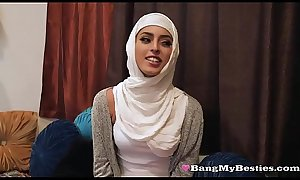 Dirty Muslim Teens Ignore Beliefs &amp_ Share A Big Black Dick