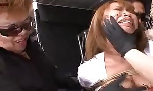 Trio of Asian Sadists Drive Japanese Sub Crazy With Toys