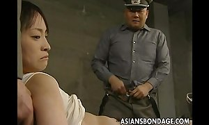 Japanese doll believed yon with an increment of thronging with respect to heavy jocks