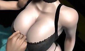 Umemaro 3D - Lewd bomb bust female teacher - 60FPS