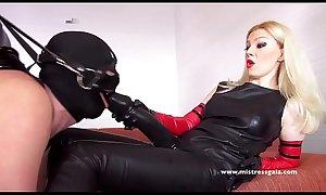 Two Mistress Strapon Horse Anal Slave