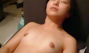Chinese ex girlfriend masturbating