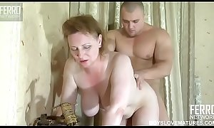 Mom forced for passionate sex with her son
