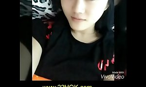 Indonesia Young Teen Model Get Facial