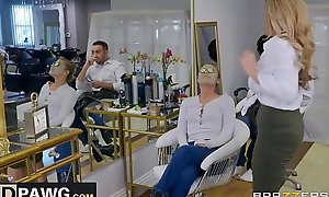 Brazzers - (Tyler Faith, Keiran Lee) Sneaking In A Last Minute Facial! Full HD Video on hdpawg.com