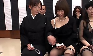 DVDES-644 Jav.guru (English subbed) A World Where Sex Is Extremely Easy 6 Special part 3 - A funeral wake ceremony