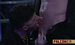 This rough gay boy loves biker dudes