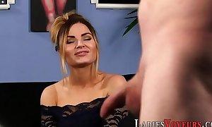 Kinky domina laughing