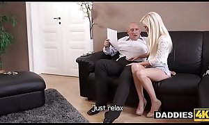 Stunning Hungarian Babe Fucks Her Boyfriend&#039_s Experienced Dad